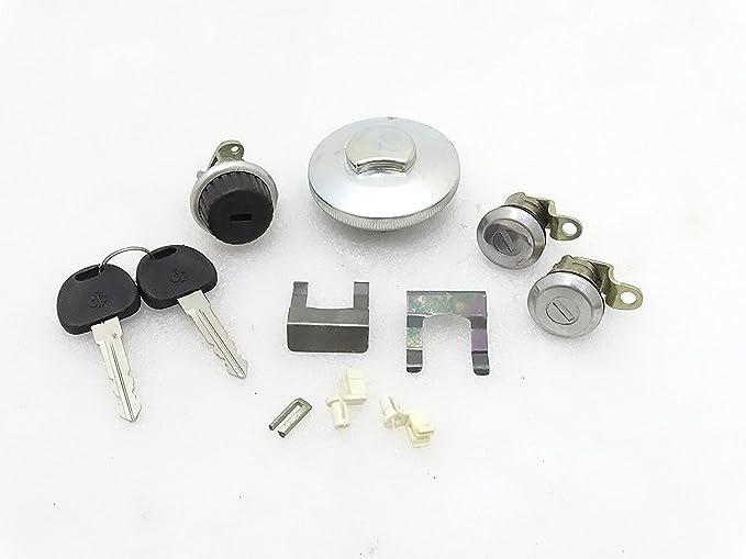 Puerta de tapa de combustible con cerradura guantera cerradura de para Suzuki SAMURAI Gypsy SJ410 SJ413