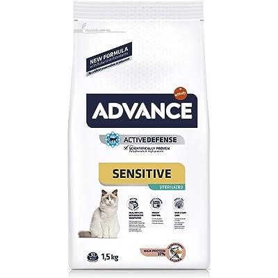 Advance Sensitivie Sterilized - Pienso para Gatos estirilizados con sensibilidades digestivas - 1.5 kg