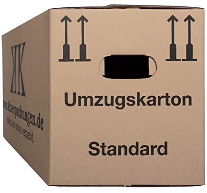9 - Cajas de Mudanza Basic 640 x 300 x 340 mm: Amazon.es ...