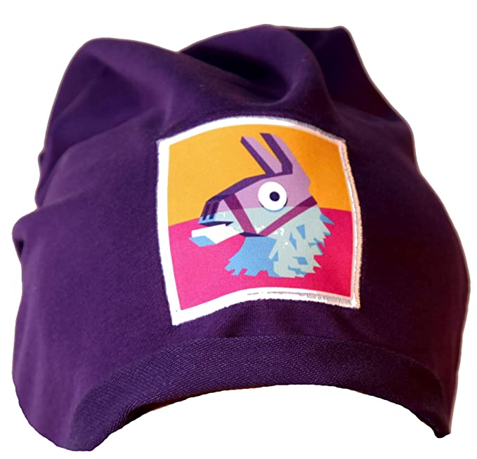 Epic Games Berretta Fortnite Viola Lama Leggera Logo Originale Merchandising Ufficiale