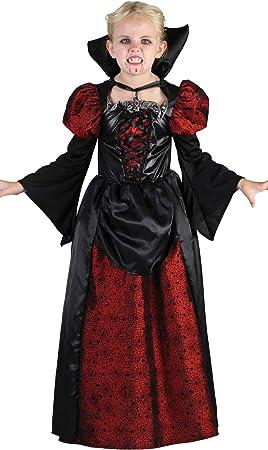 Fyasa Disfraz de vampiro con cuello, tamaño mediano, 706095-T03 ...
