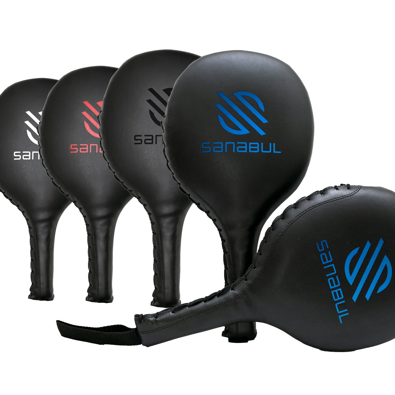 Sanabul Essential Boxing MMA Punching Paddles Pair