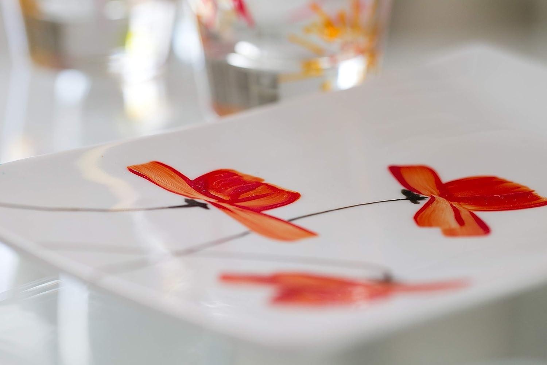 Pennarello a Punta sferica 150 per Porcellana PEBEO Colore: Arancione Agata Confezione da 6 Pezzi