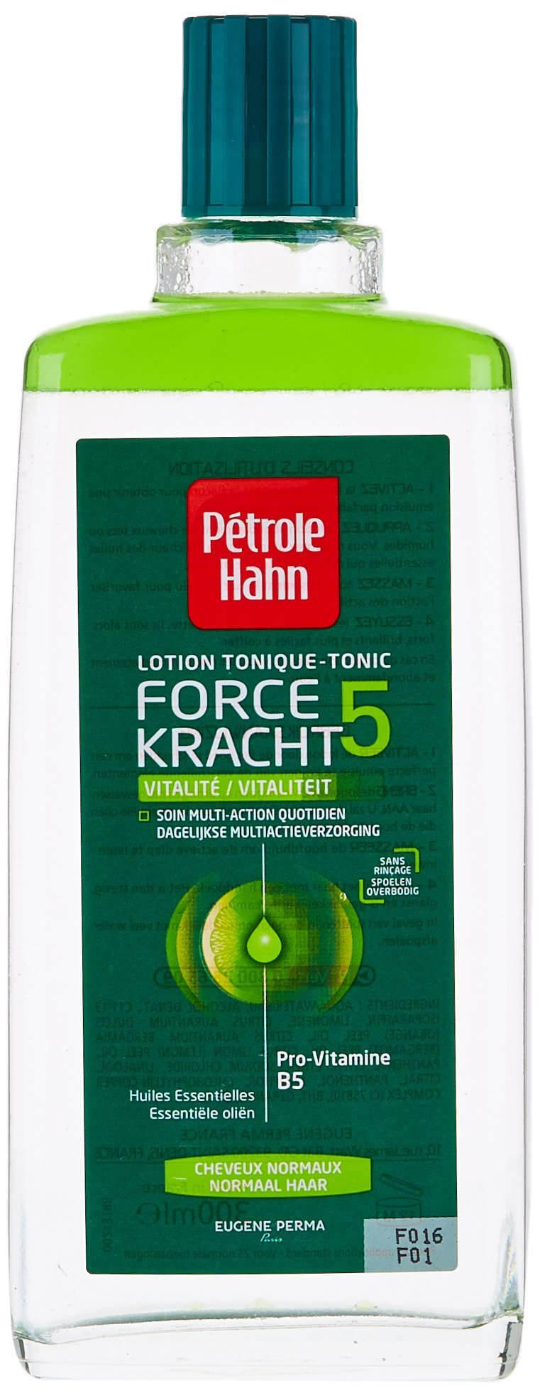 Petrole Hahn Force 5 Vitality Tonic Lotion for Normal Hair 300 ml