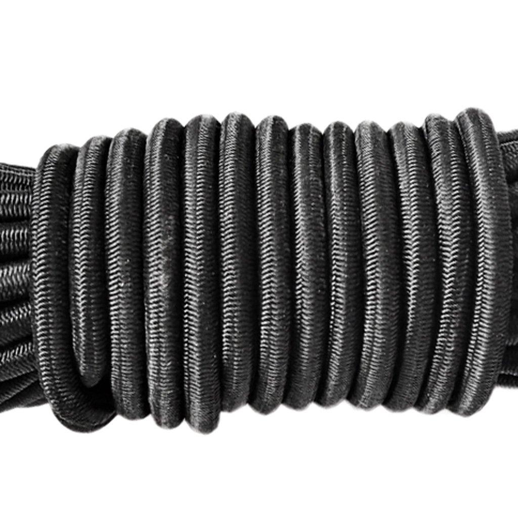 Barril 2 Agujeros Bloqueo de Cuerda MagiDeal Cord/ón El/ástico de Amortiguaci/ón 5 m