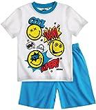 Smiley Garçon Pyjama court - bleu