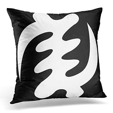Emvency Throw Pillow Cover Gye Nyame God Is Supreme Symbol Decorative Case African Home Decor Square 20x20 Inch Cushion Pillowcase Amazoncouk
