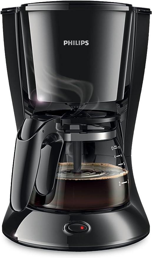 Philips HD7432/20 - Cafetera de goteo, 640-760 W, color negro: Amazon.es: Hogar