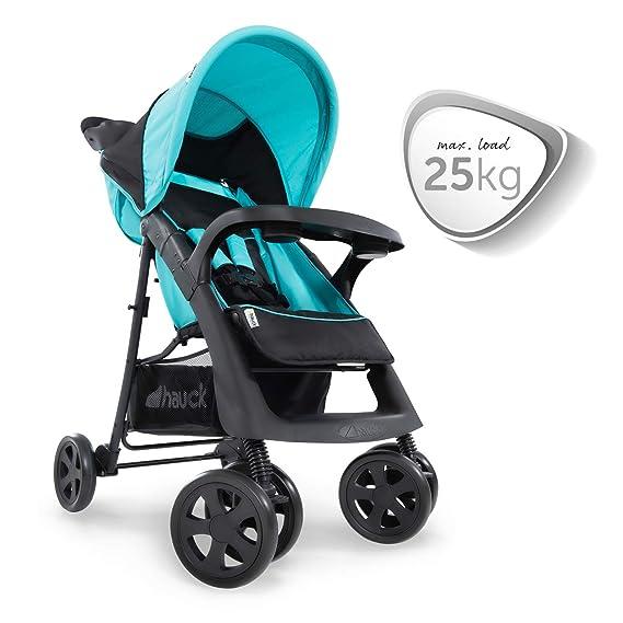Hauck Shopper Neo II - Silla de paseo con respaldo reclinable, de 0 meses a 25 kg, plegado fácil y compacto, plegable con una mano, ligera, con ...