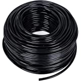 MIXC 200ft 1/4 inch Blank Distribution Tubing Drip Irrigation Hose Garden Watering Tube Line