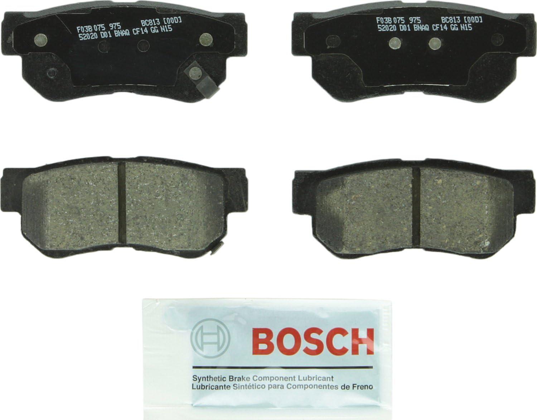 Rear Ceramic Brake Pads for Azera Elantra Santa Fe Sonata Tucson Optima Sportage