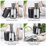 Homlpope Centrifugal Juicers Machine, Juice