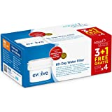 Aqua Optima Evolve confezione 8 mesi, 4 filtri per acqua x 60 giorni - per modelli *BRITA Maxtra (non *Maxtra+) - EVD415