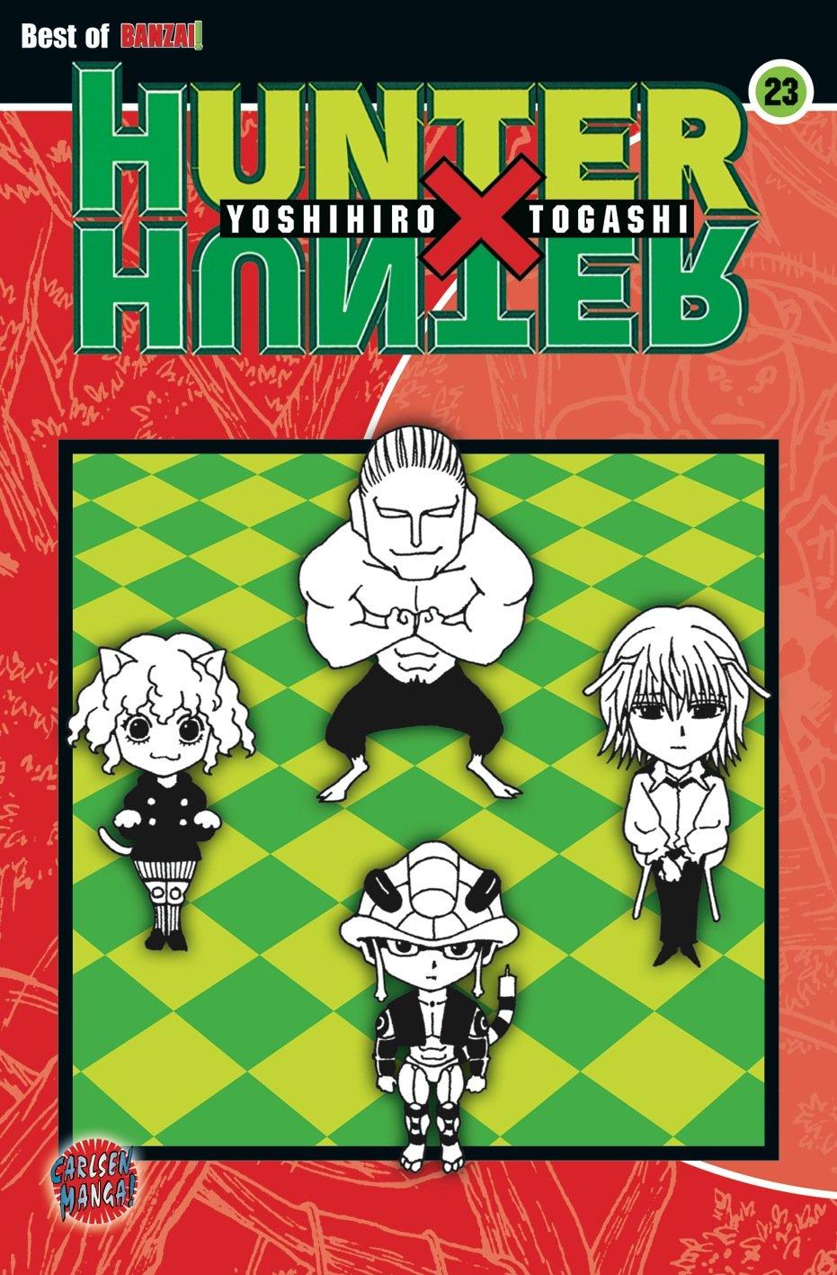 Hunter X Hunter, Band 23 Taschenbuch – 27. August 2009 Yoshihiro Togashi Hiro Yamada Carlsen 3551765936