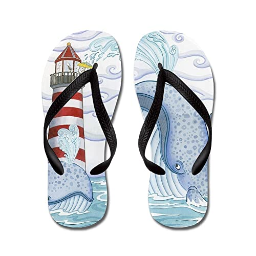 5a9abcc45135 Lplpol Whale Flip Flops for Kids and Adult Unisex Beach Sandals Pool ...