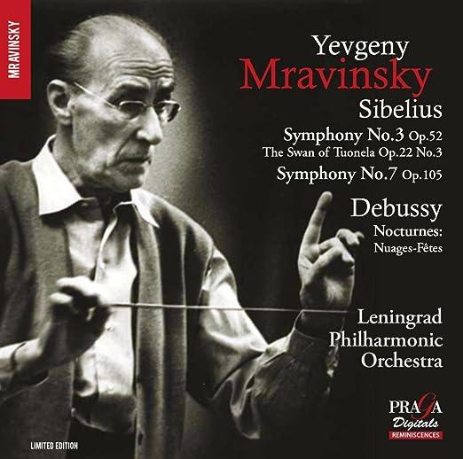Yevgeny Mravinsky: Orquesta Sinfónica de Leningrado, Sibelius: Amazon.es: Música