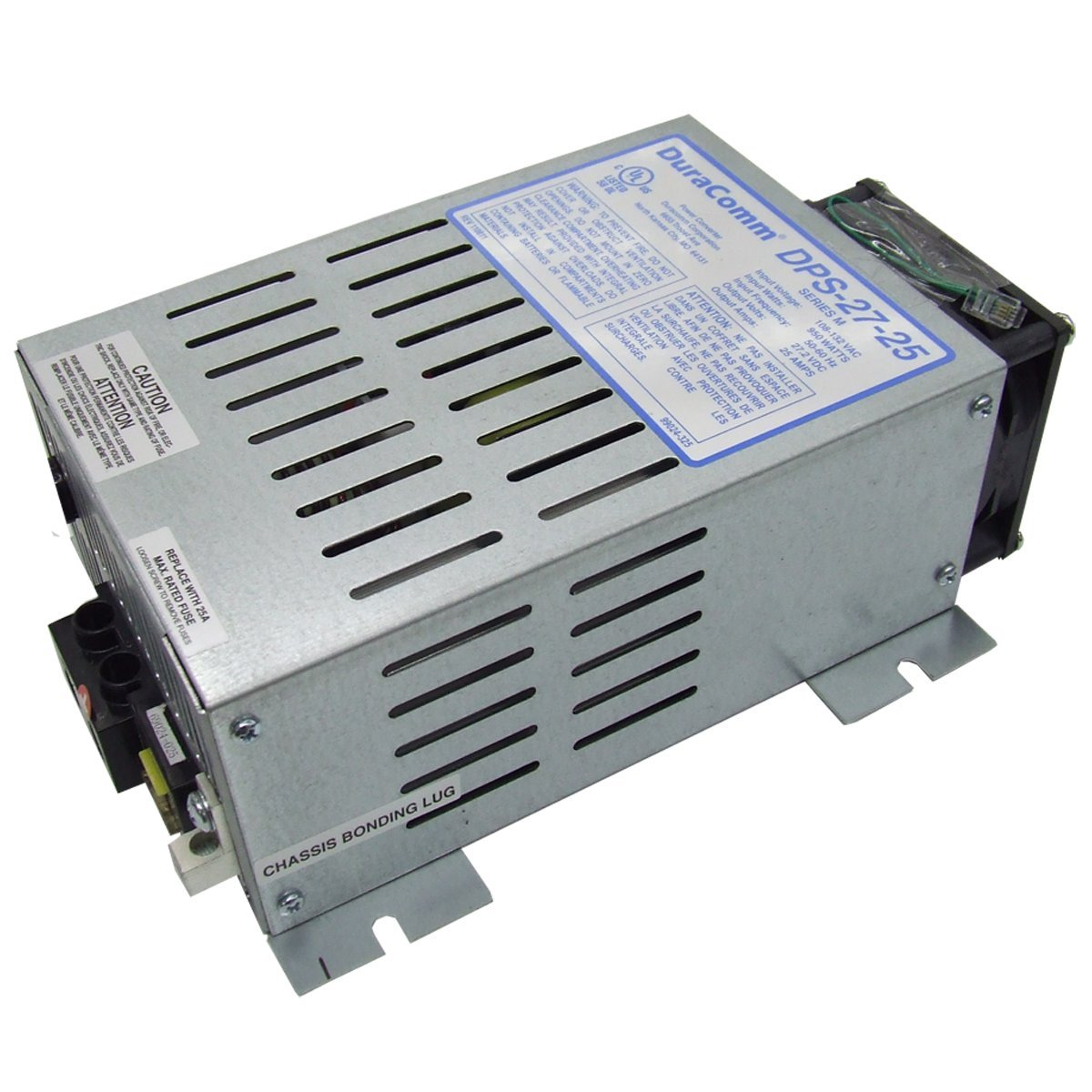 DuraComm DPS-27-25 Power Source Utilities with Low Noise Supply