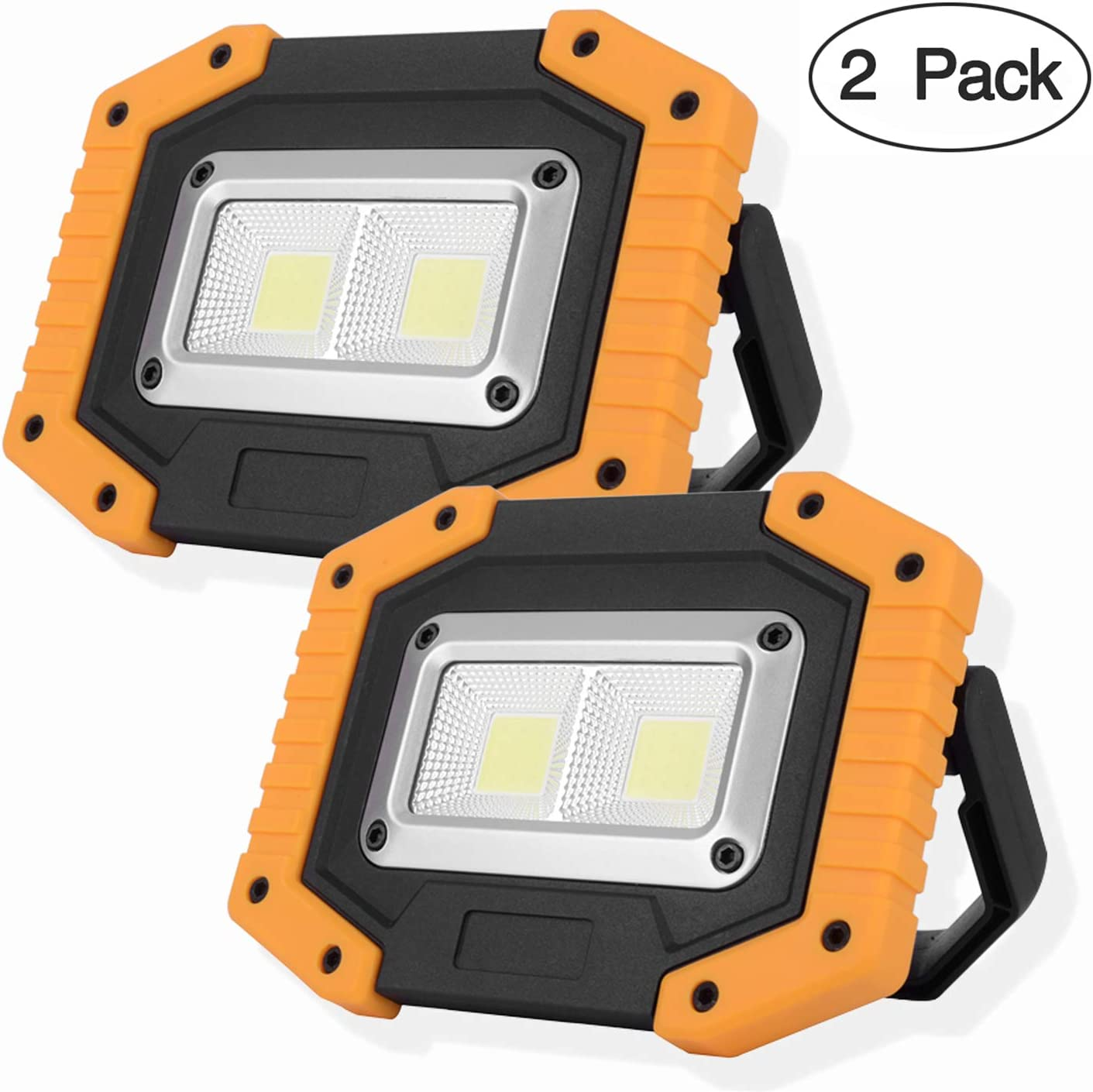 LED flood light Cordless 60W Waterproof camping car charger Outdoor Rechargeable