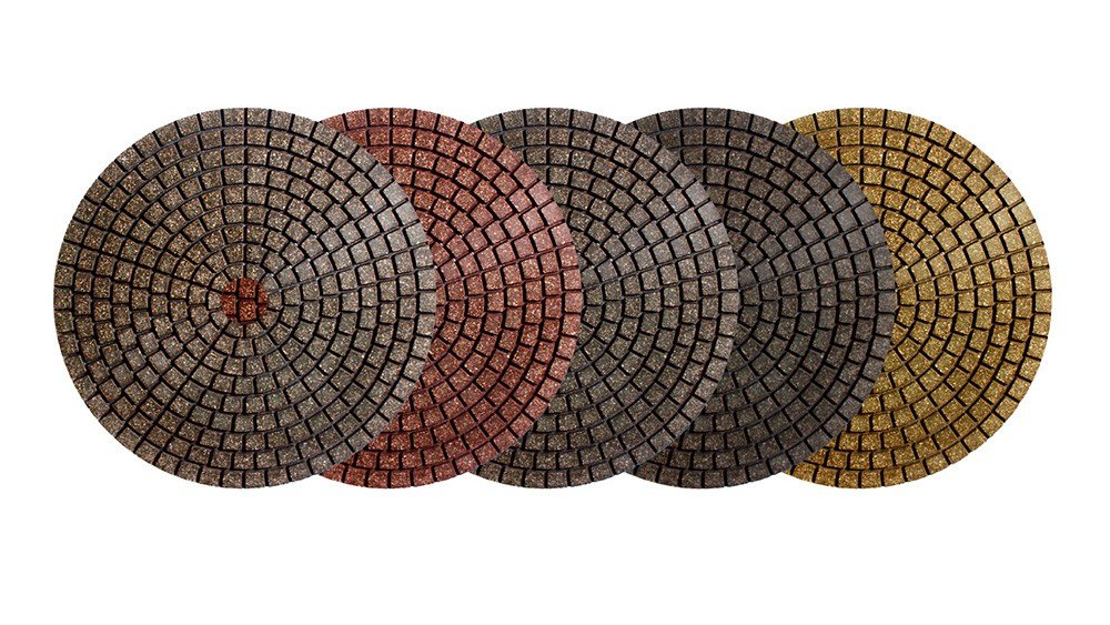 Alpha Flexible Diamond Ceramica EX 5' Polishing Disc (EX53000R 5')