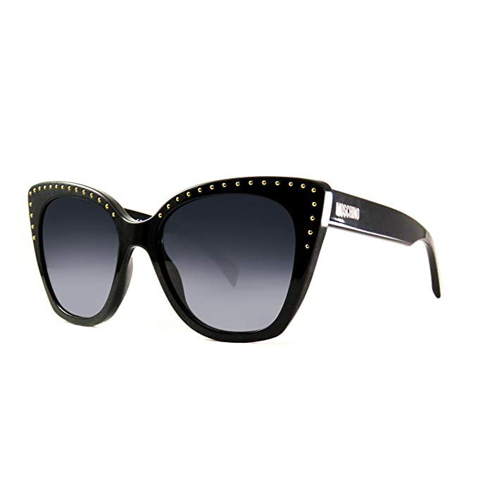 Gafas de Sol Moschino MOS005/S BLACK/DARK GREY SHADED mujer ...