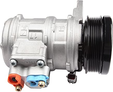 A//C Compressor and Clutch Fits Dodge Caravan; Chrysler Town Country Voyager