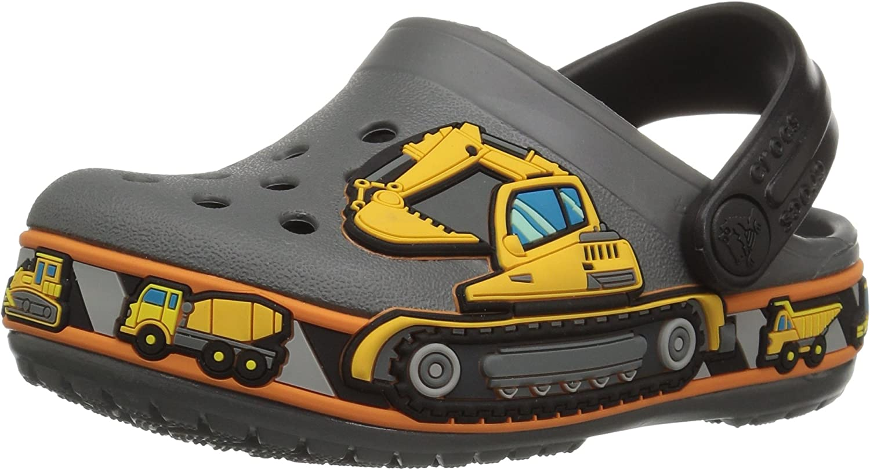 crocs Kids Fun Lab Light-up Boys Graphic Clog