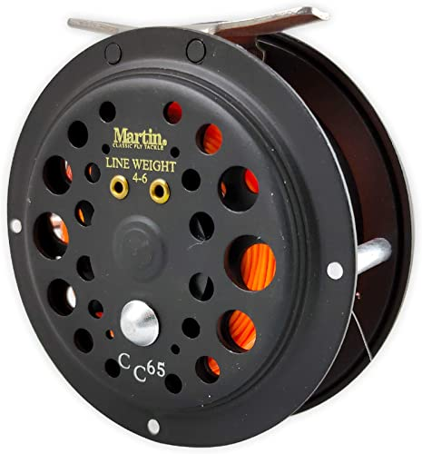 Caddis Creek Fly Fishing Reel, Reinforced Aluminum Spool with Push Button Release [Martin] Picture