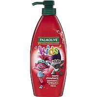 Palmolive Kids 3 in 1 Hypoallergenic Hair Shampoo, Conditioner & Body Wash Trolls Merry Strawberry Detangles Hair 700mL