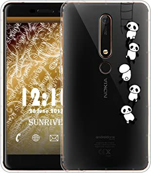 Sunrive Funda para Nokia 6.1 / Nokia 6 2018, Silicona Slim Fit Gel ...