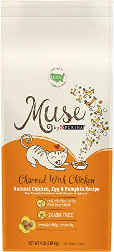 Muse Natural Grain Free Adult Dry Cat Food