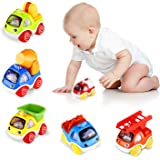 ShinePick Pull Back Cars, Toy Cars for Toddlers, Push and Go Vehicles Toys Friction Powered Car Toys Christmas Birthday…