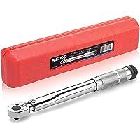NEIKO Chave de torque ajustável 03714A de 0,6 cm | SAE | Aço cromo vanádio de 50 a 500 cm | 27,3 cm de comprimento