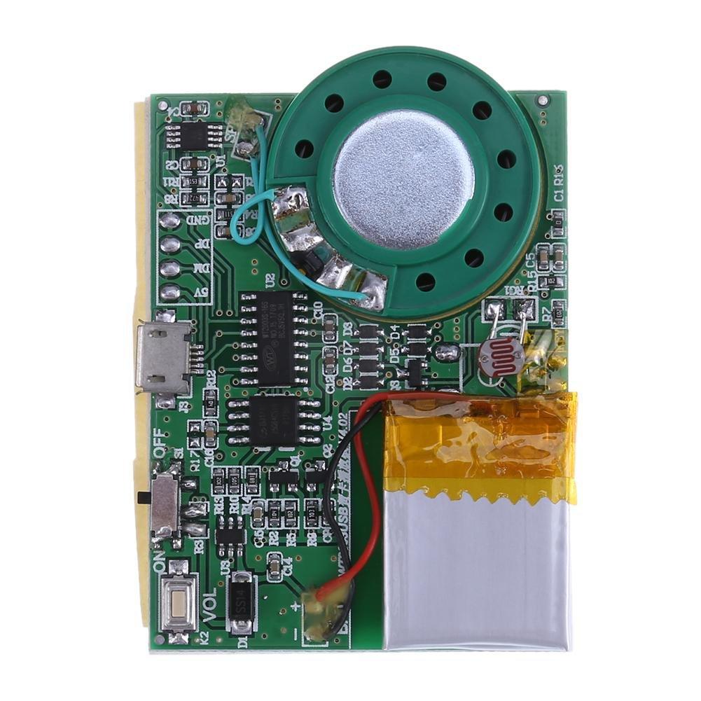 Chip de sonido programable chip de voz m/ódulo de tablero de m/úsica para tarjeta de felicitaci/ón DIY