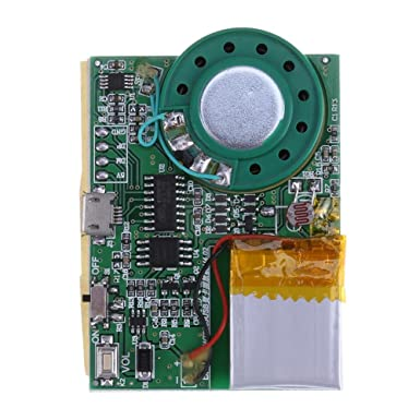 Zibuyu programmable sound chip voice chip music board module for zibuyu programmable sound chip voice chip music board module for greeting card diy m4hsunfo