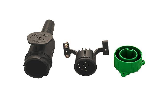 Anhänger Beleuchtung Menbers Stecker 8 polig 12 Volt PVC lange ...