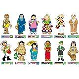 Amazon 60 greetings from around the world bulletin board carson dellosa international kids bulletin board set 1710 m4hsunfo