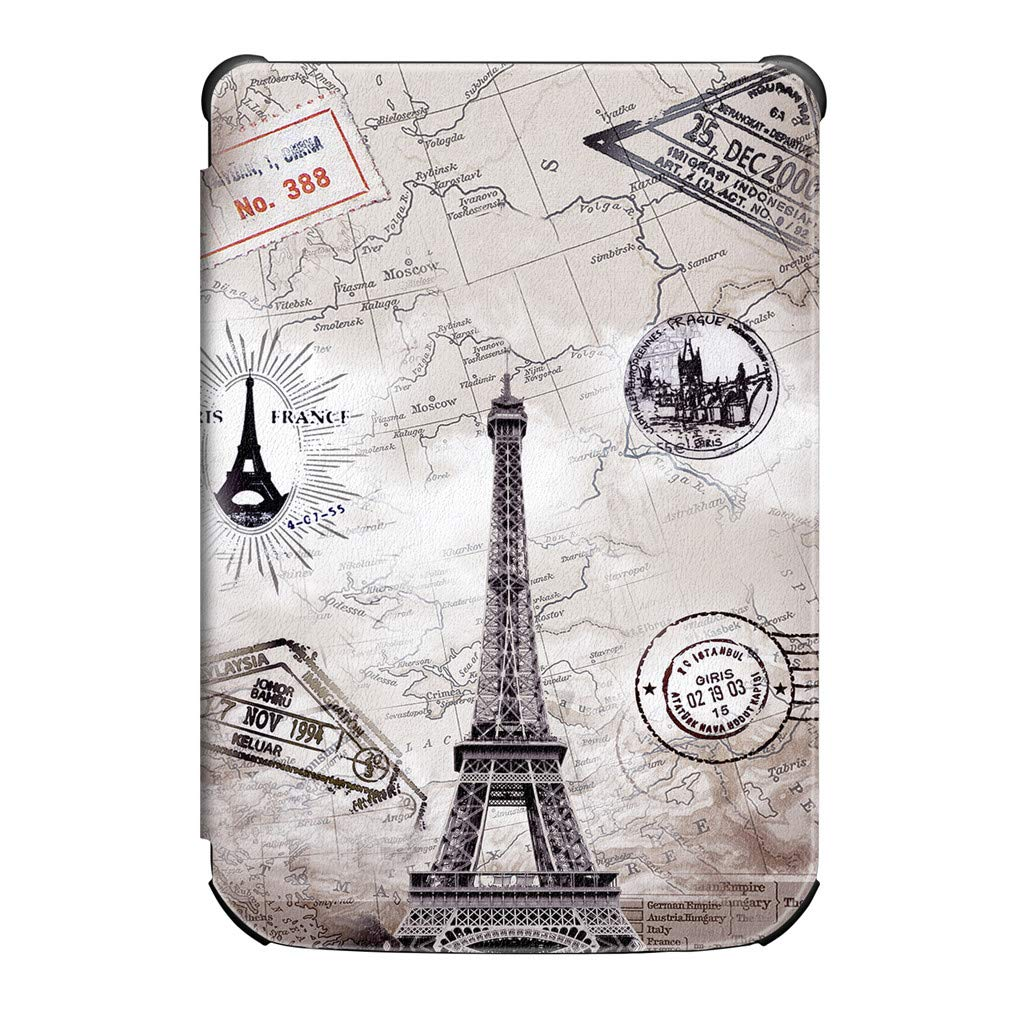 Amazon com: Slim Smart Starry Sky Leather Stand Cover Case