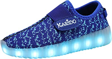 Colors LED Light up Shoes Sneakers