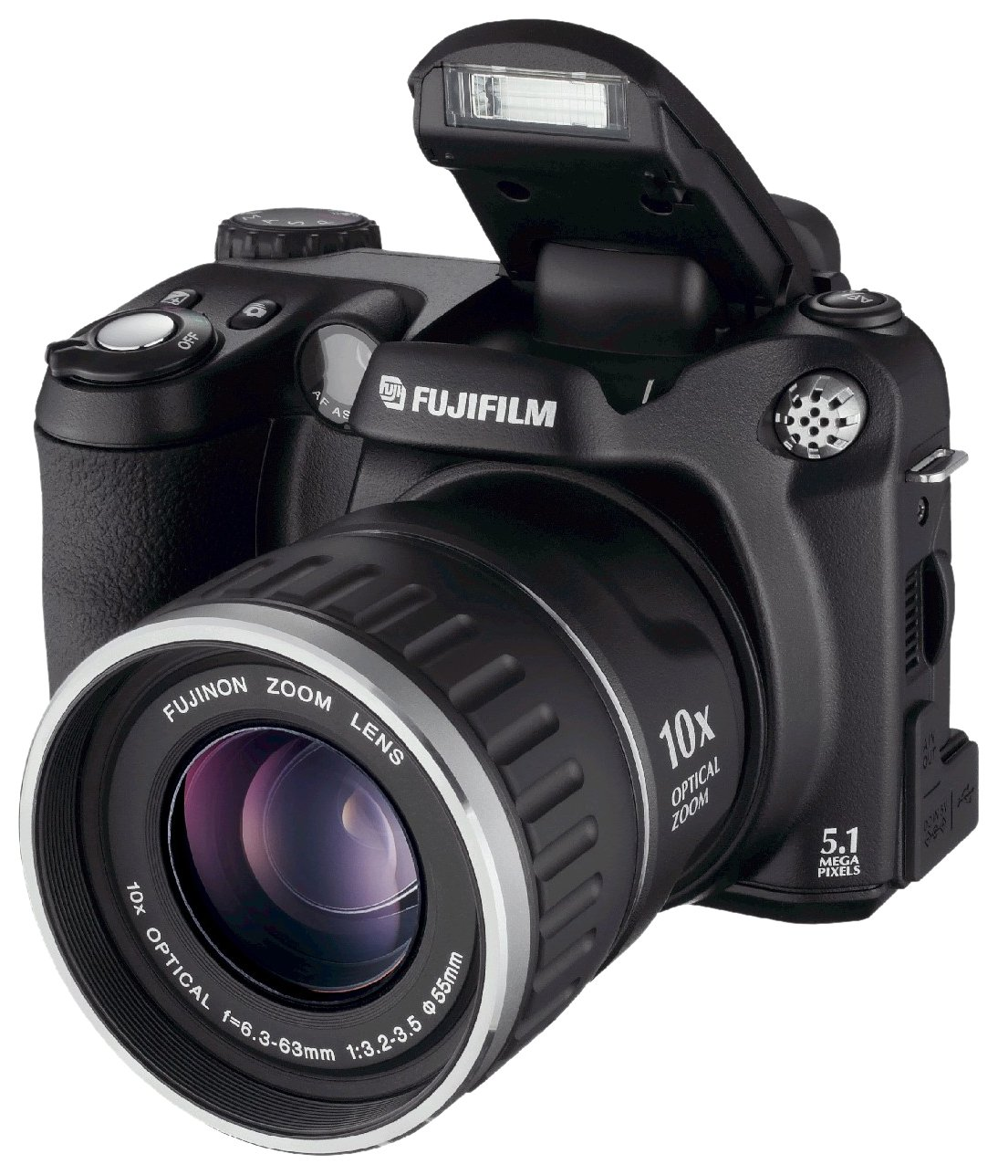Fujifilm FinePix S5600 Zoom Digital Camera - Black 1.8: Amazon.co.uk: