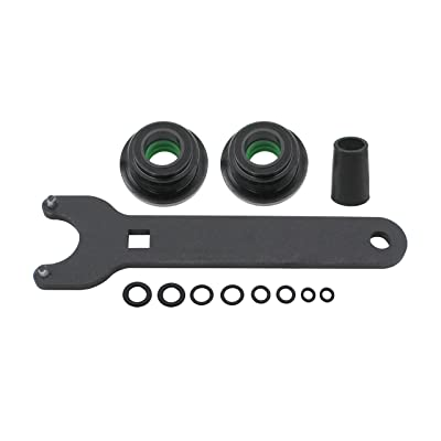 Seal kit replace for seastar for the front of the pivot model #HS5157 Mounting steering cylinder compatible with HC5340, HC5341-HC5348 HC5358 HC5365 HC5375 HC5394 HC5445 HC6750-HC6755.: Automotive