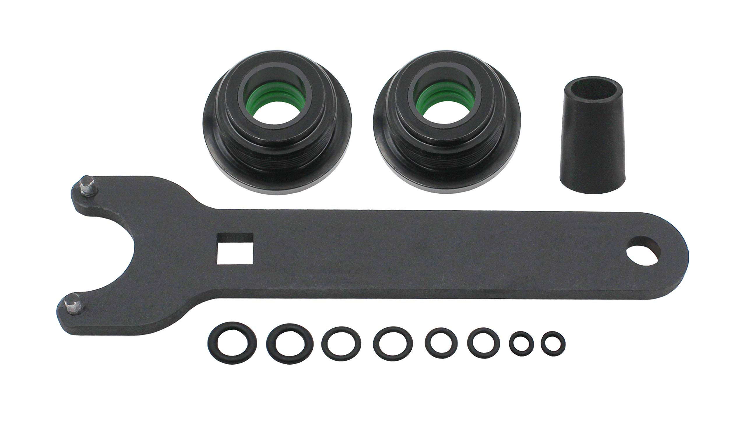 Seal kit replace for seastar for the front of the pivot model #HS5157 Mounting steering cylinder compatible with HC5340, HC5341-HC5348 HC5358 HC5365 HC5375 HC5394 HC5445 HC6750-HC6755. by iFJF