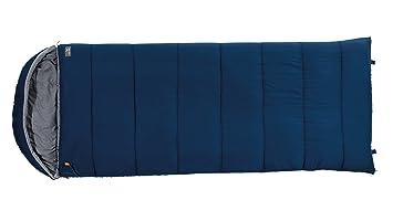 Easy Camp Deckenschlafsack Asteroid - Saco de Dormir Rectangular para Acampada, Color Azul, Talla