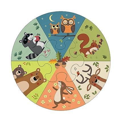 Mudpuppy Wheel Puzzles