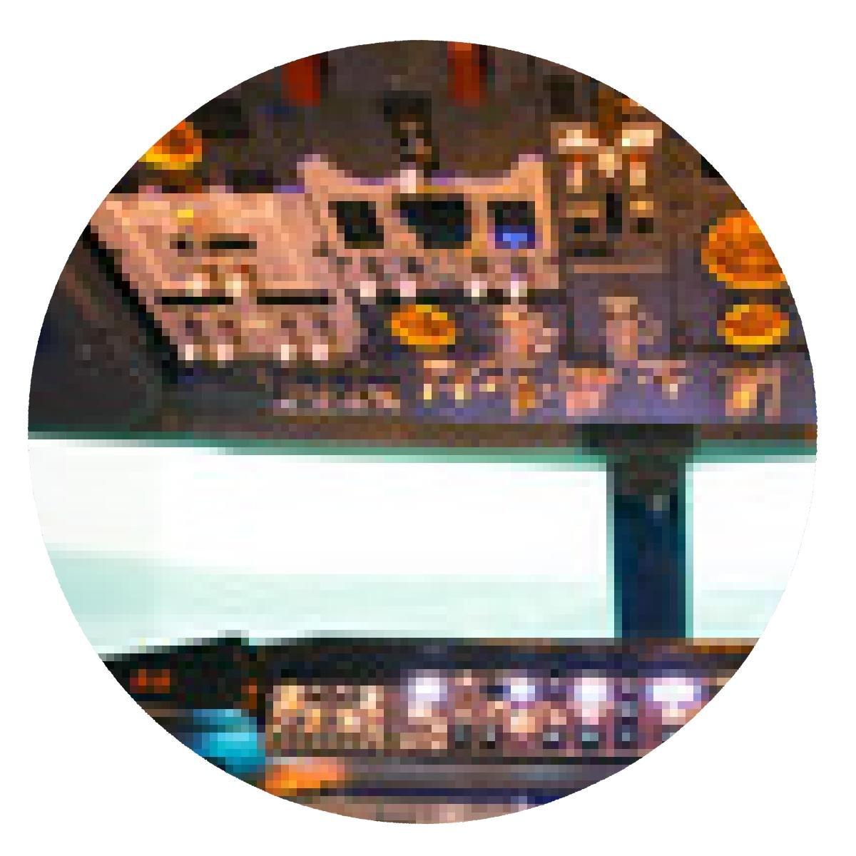 my-puzzle-design inside of homemade flight simulator: Amazon