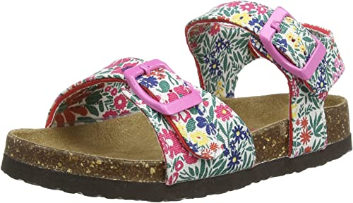 Joules, Girls' Sandals, Ditsy, 11 UK