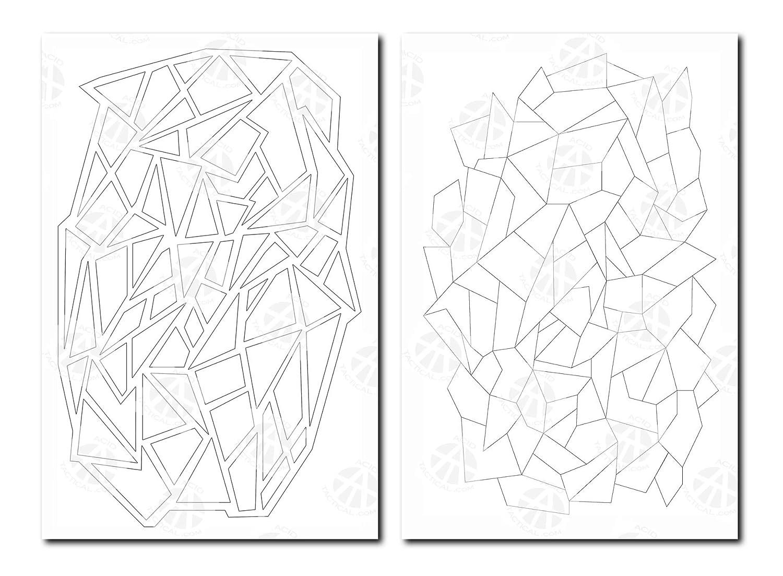 2 diseños de calcomanía camuflaje aerógrafo aerosol pintura ...