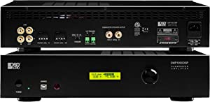 OSD Audio SMP1000 Mono 1000W Class D Subwoofer Amplifier w/DSP App Control, LED Screen (SMP1000DSP)