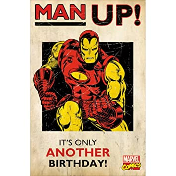 Iron Man Man Up Its Only Another Birthday Marvel Comics