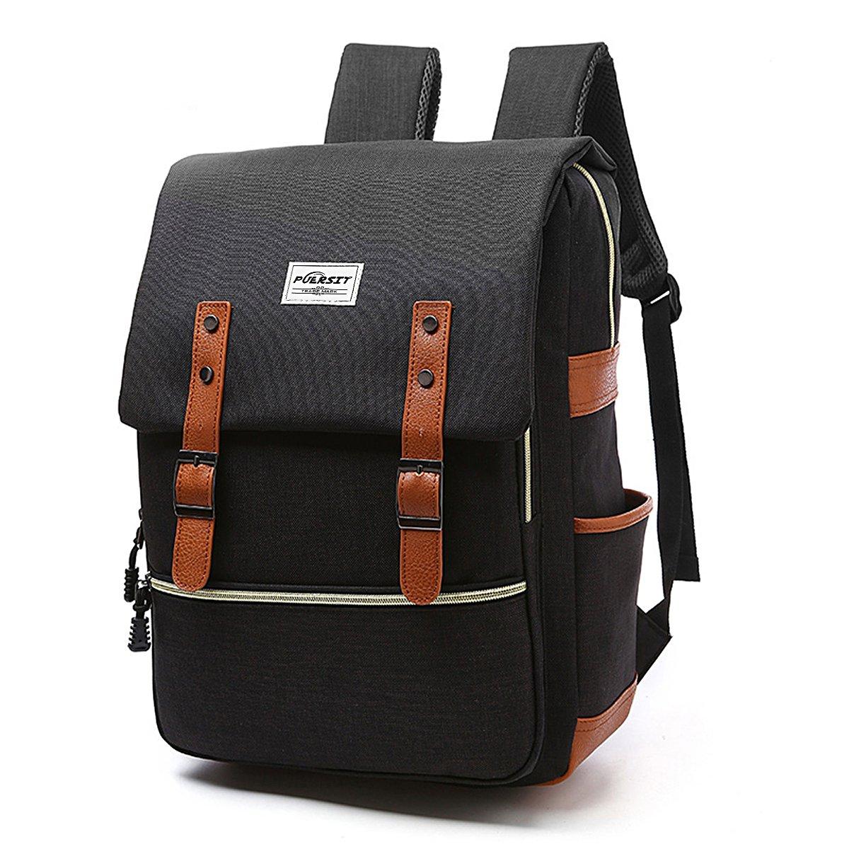 2e43460cdf0cc Amazon.com  Vintage Laptop Backpack