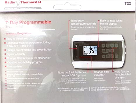 Radio Thermostat 7-day Programmable Thermostat